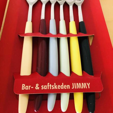 Nils Johan/ニルス ヨワン/ロングスプーン/Jimmy/ジミー/6本セット/未使用品