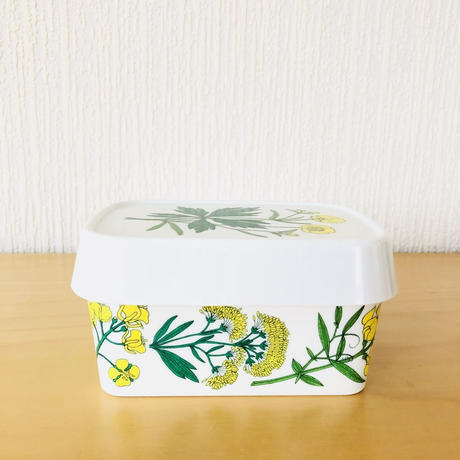 Flora/フローラ/マーガリンケース/メラミン樹脂製