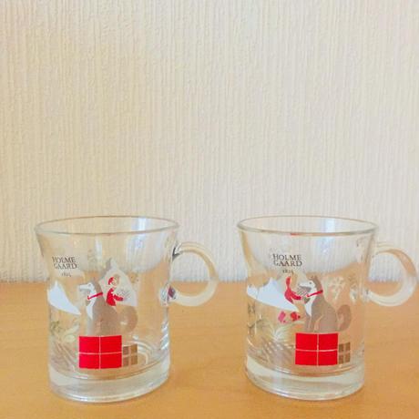 HOLME GAARD/ホルムガード/耐熱ガラスマグカップ/2個セット
