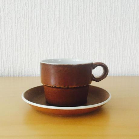 Gustavsberg/グスタフスベリ/COQ/コック/コーヒーカップ&ソーサー/CS-02