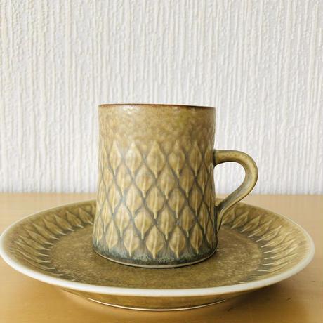 Jens.H.Quistgaard/イエンス.H.クイストゴー/レリーフ/コーヒーカップ&デザートプレート16cm/CP-05