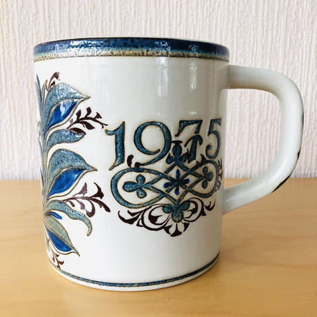 Royal Copenhagen/ロイヤル コペンハーゲン/Nils Thorson/200年記念ビヤマグ/1775年ー1975年