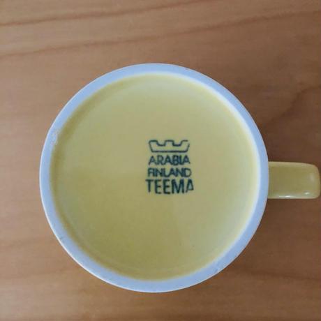 Arabia/アラビア/Teema/テイーマ/マグカップ/イエロー/MG-02