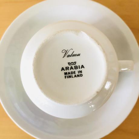 Arabia/アラビア/Esteri Tomula/エステリトムラ/Valmu/ヴァルム/カップ&ソーサー/CS-03