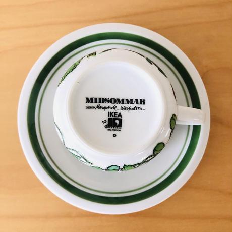 Ikea/イケア/ヴィンテージ/Midsommar/ミッドサマー/カップ&ソーサー