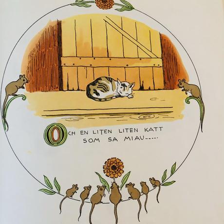 Elsa Beskow/エルサ ベスコフ/絵本/ヴィンテージ/Sagan om den lilla lilla gumman/小さな小さなおばあちゃんの物語