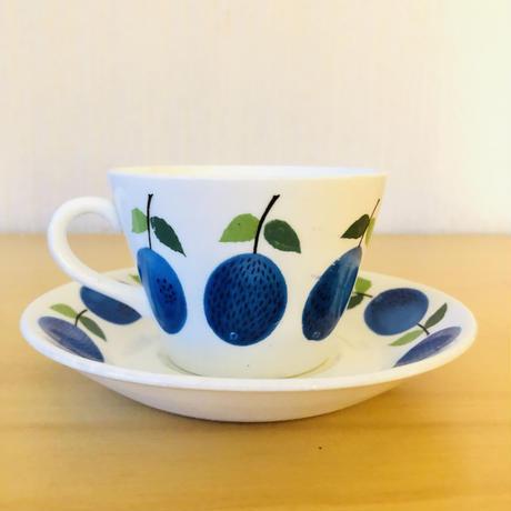 Gustavsberg/グスタフスベリ/Prunus/プルーヌス/カップ&ソーサー/CS-02