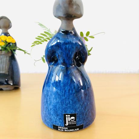 Jie Gantofta/ジィガントフタ/フラワーガール/濃いブルー/13cm/Nr.2