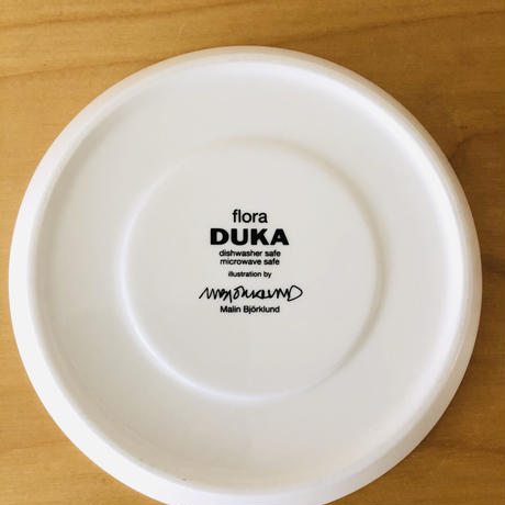 DUKA/デユーカ/Mallin Björklund/マーリン. ビヨルクルンド/Flora/フローラ/カップ&ソーサー