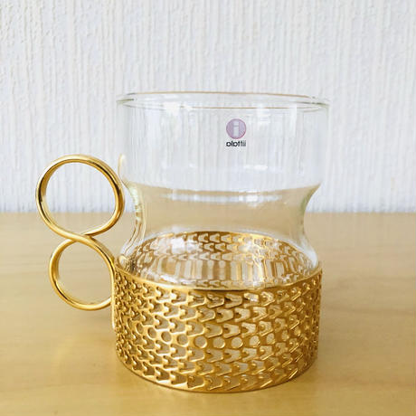 iittala/イッタラ/Tsaikka/ツアイッカ/グラスセット/Gold/クリアx ゴールド