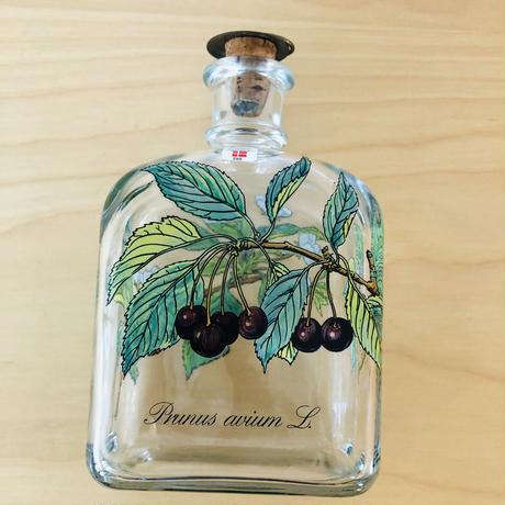 Holmegaard/ホルムガード/ボタニカルリキュールボトル/Pruns avium/西洋ミザクラ