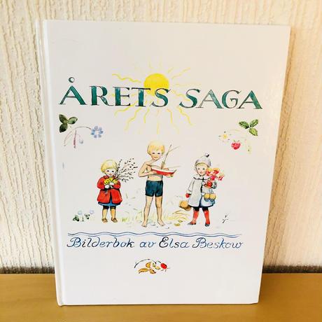 Året Saga/アラウンドイヤー物語/絵本/ヴィンテージ/Elsa Beskow/エルサ ベスコフ