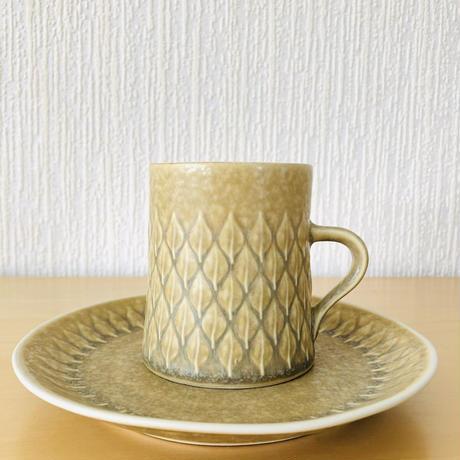 Jens.H.Quistgaard/イエンス.H.クイストゴー/レリーフ/コーヒーカップ&デザートプレート16cm/CP-04