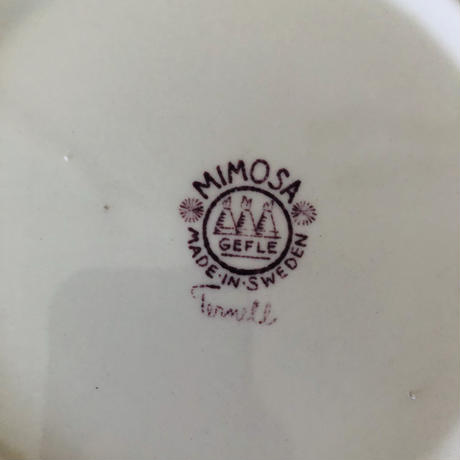 Gefle/ゲフレ/Mimosa/ミモザ/スープ、パスタプレート/21cm-01