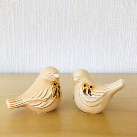 DECO/デコ/Rosa Ljung/ローサユング/2羽の小鳥さん/オレンジ