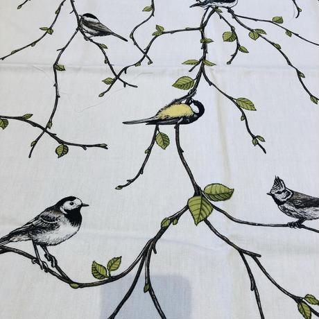 Arvidssons Textil/アルビッドソン. テキスタイル/Mialotta Arvidsson/ミアロッタ. アルヴィッドソン/Fågel Fest/小鳥のパーティー