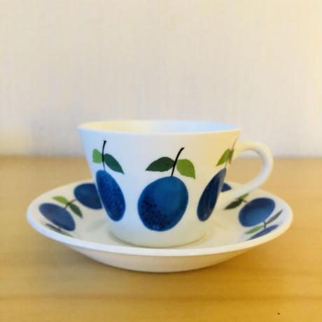 Gustavsberg/グスタフスベリ/Prunus/プルーヌス/カップ&ソーサー/CS-03