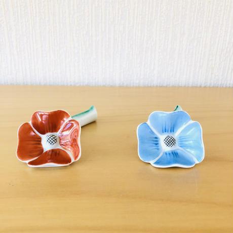 Hackefors/ハッケフォシュ/お花のカトラリーレスト/濃いオレンジ