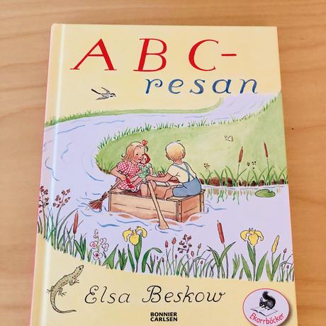 Elsa Beskow/エルサ ベスコフ/絵本/ヴィンテージ/ABC resan &Tomtebo Barnen/2冊セット