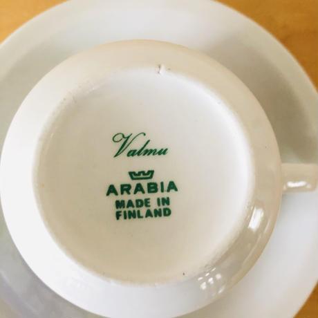 Arabia/アラビア/Esteri Tomula/エステリ.トムラ/Valmu/ヴァルム/カップ&ソーサー/CS-02