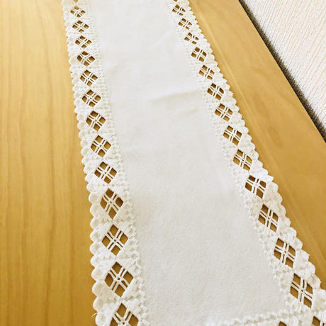Jobs Handtryck/ジョブス/ハーダンガー刺繍/テーブルクロス/2枚セット