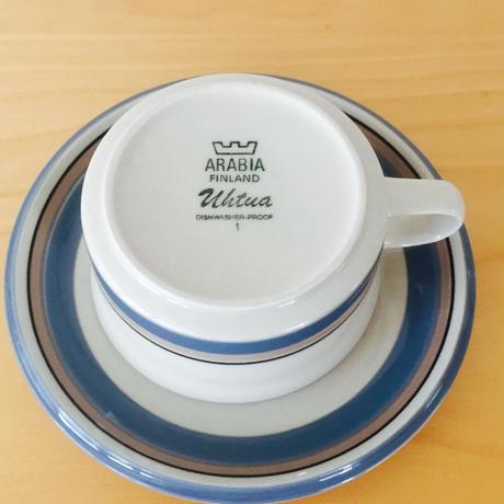 Arabia/アラビア/Uhtua/ウートゥア/カップ&ソーサー