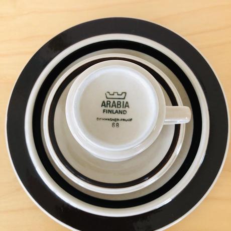 Arabia/アラビア/Ruija/ルイヤ/カップ&ソーサー、プレート/3点セット/CSP-02