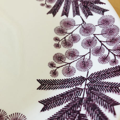 Gefle/ゲフレ/Mimosa/ミモサ/オーバルプレート/28,5cm x 25cm