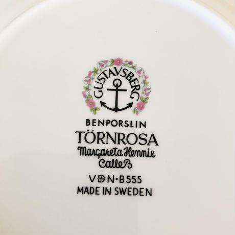 Gustavsberg/グスタフスベリ/Törnrosa/野ばら/プレート/17cm