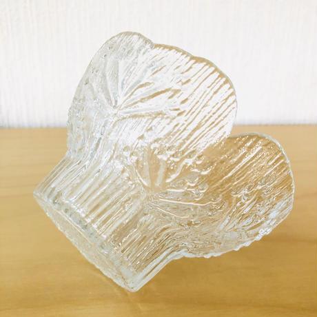 Lasisepat/ラシセパト/ヴィンテージガラス/キャンドルホルダー/H: 8cm