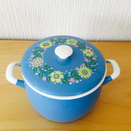 Kockums/コックムス/お花柄のキャセロール