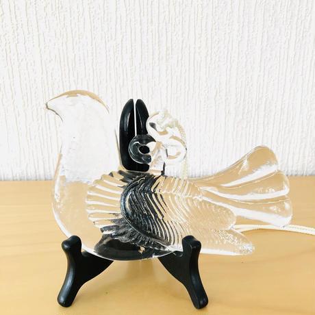 Boda/ボーダ/Bertil Vallien/バーテイル バレリン/クリスタルガラス/鳥のオーナメント