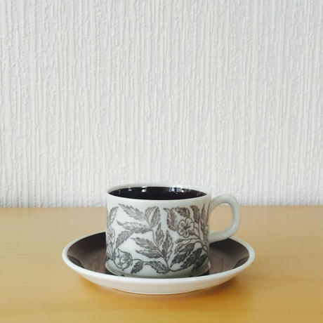 Gefle/ゲフレ/Fontana/フォンタナ/コーヒーカップ&ソーサー/CS-03
