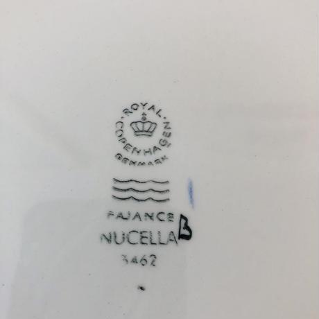 Royal Copenhagen/ロイヤル コペンハーゲン/Fajans/フアイアンス/Nucella/ヌセッラ/プレート/24cm/24-01