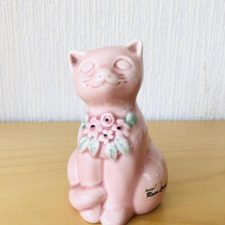 DECO/デコ/Rosa Ljung/ローサ ユング/子猫ちゃん/パステルピンク/11,5cm