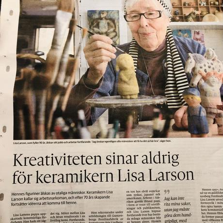 Gustavsberg/グスタフスベリ/Lisa Larson/リサラーソン/Larsons Unge Lotta/ラーソンさんちのロッタちゃん