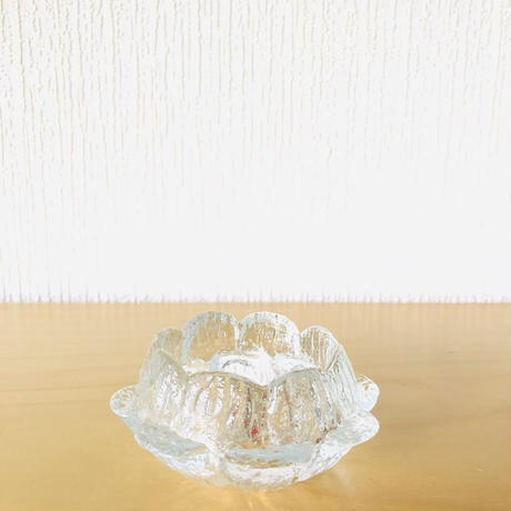 Holmegaard/ホルムガード/お花型キャンドルホルダー