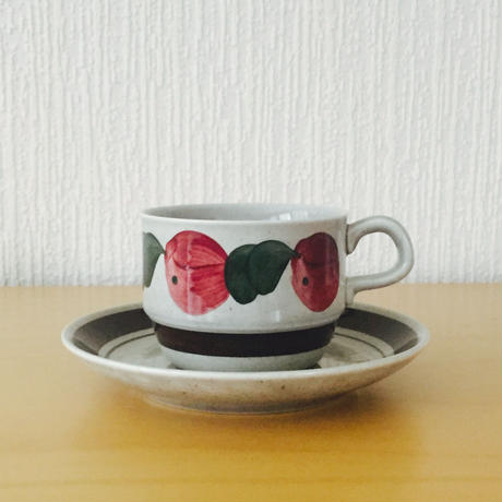 Rorstrand/ロールストランド/Birgitta/ビギッタ/コーヒーカップ&ソーサー/CS-01