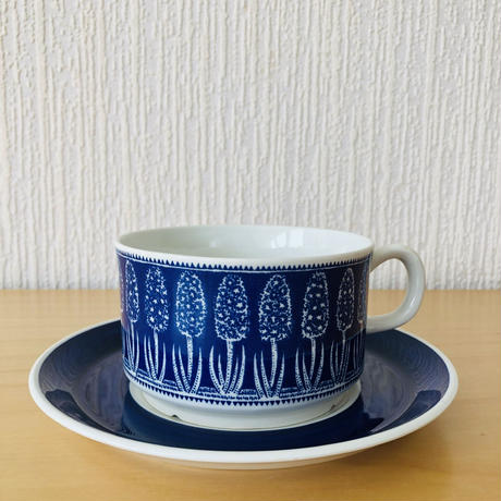 Gefle/ゲフレ/Blå Hyacinth/ブルーヒヤシンス/ティーカップ&ソーサー