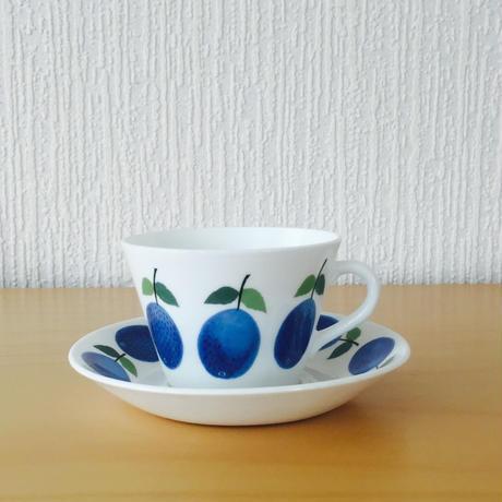 Gustavsberg/グスタフスベリ/Prunus/プルーヌス/コーヒーカップ&ソーサー/CS-04