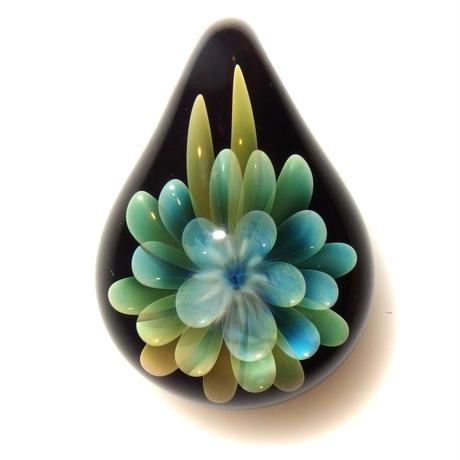 [MFN-60] mini spread flower pendant