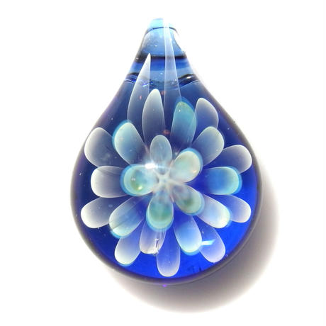 [MCN-60] mini clear flower pendant
