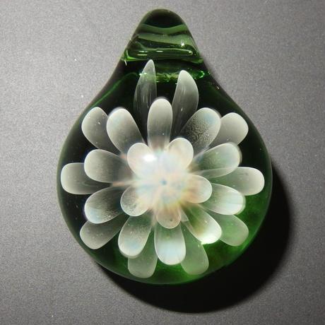 [MCN-29] mini clear flower pendant