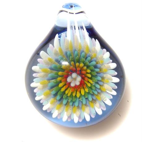 [CCF-02]cute clear flower pendant