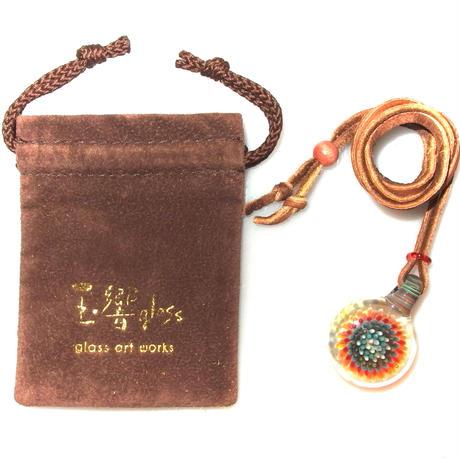 [MCPF-71]mini clear poisonous flower pendant