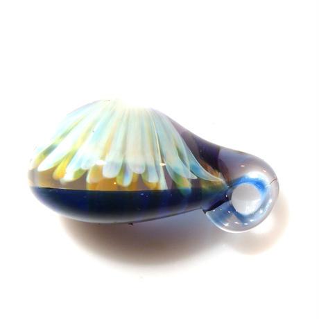 [MCYF-61] mini clear unber flower pendant