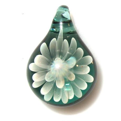 [MCN-79] mini clear flower pendant