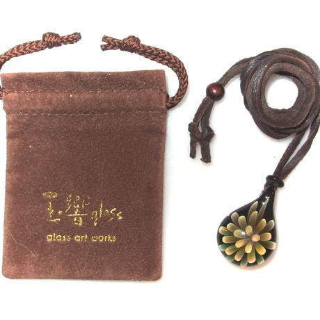 [MFN2-21] mini spread flower pendant