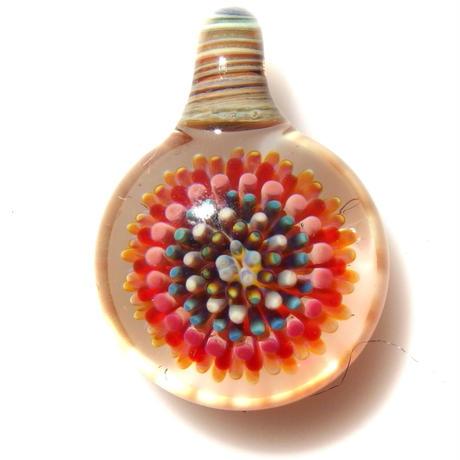 [MCPF-49]mini clear poisonous flower pendant