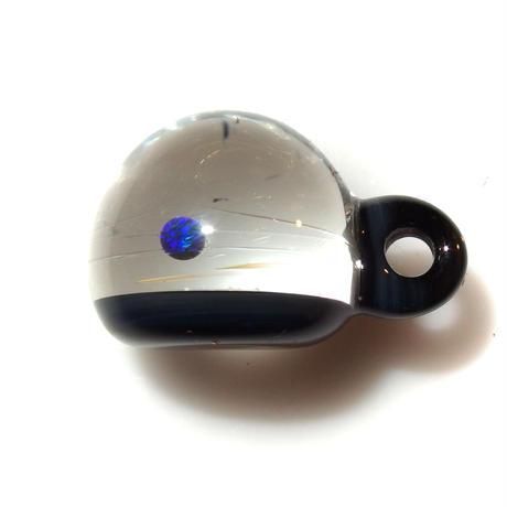 [UBMP-50] meteor black planet pendant